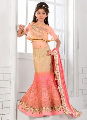 Manufacturer Fish Cut Kids Lehenga, Baby Girl Lehenga