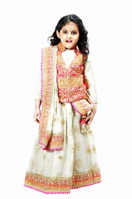 Girls Designer Lehenga with Jackets Supplier India