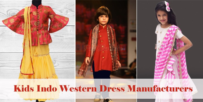 Kids Indo Western Dress Manufacturers, suppliers India