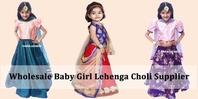 Wholesale Baby Girl Lehenga Choli, Kids Lehenga Supplier India