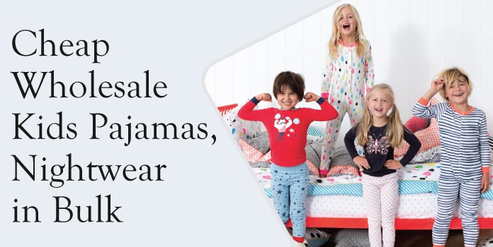 Cheap Kids Pajamas Wholesale, Children Fashion Nightwear, Baby PJs In Bulk