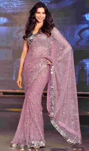 Bollywood Heavy Indian Wedding Saree