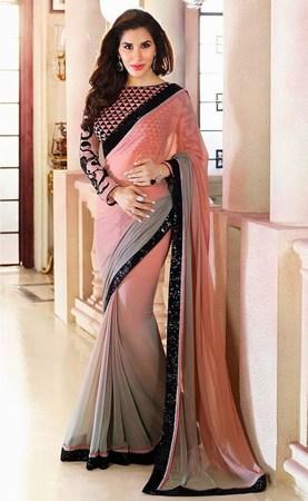 Farewell Party Saree, Farewell Saree Blouse India