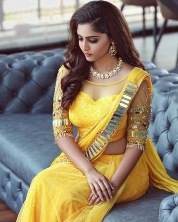 Designer Indian Wedding Saree with Blouse