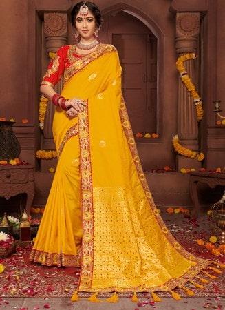 Zari Saree Wedding Collection Designer Indian Saree